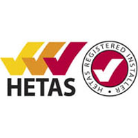 Hetas approved installer badge