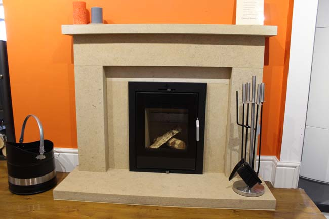 Ild 6 inset stove in wessex stone fireplace