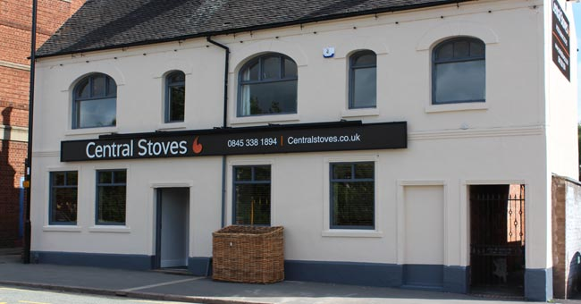 Central stoves showroom gallery